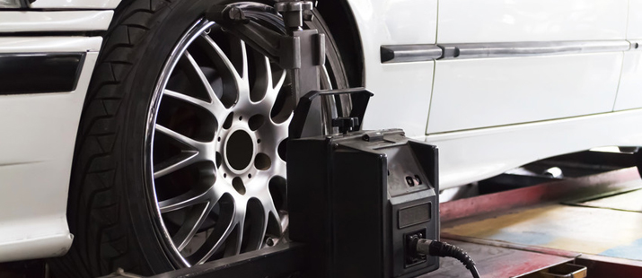 we offer 4 wheel laser alignment to help reduce wear on your tyres