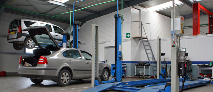 Our state of the art MOT testing bay, where we make sure  your vehicle's legal and roadworthy