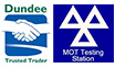 trusted trader & MOT icon